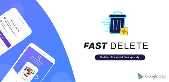 Fast Delete : Unwanted Files & Folders دانلود برنامه حذف سریع فایل ها و پوشه ها