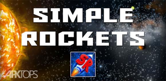 SimpleRockets دانلود بازی موشک های ساده