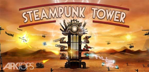 Steampunk Tower دانلود بازی برج بخار