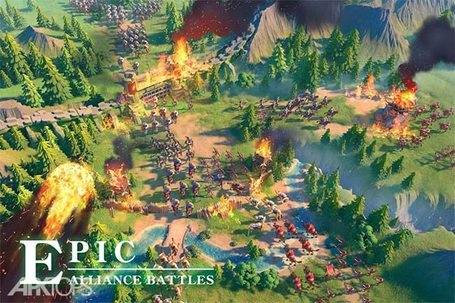 Rise of Kingdoms: Lost Crusade v1.0.22.11 دانلود بازی ظهور پادشاهی آخرین جنگ صلیبی اندروید