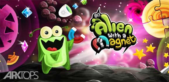 An Alien with a Magnet دانلود بازی یک بیگانه با آهنربا