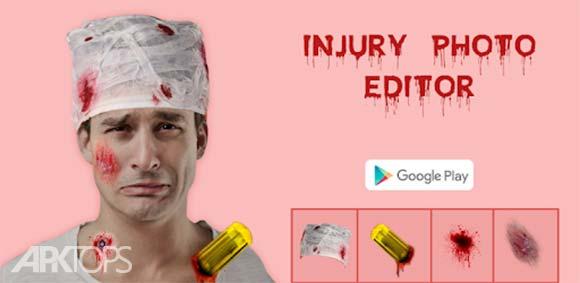 Injury Photo Editor دانلود برنامه اضافه کردن اثرات صدمه دیدن به تصاویر