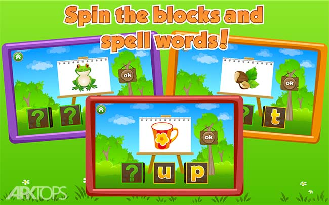 Learn to Read with Tommy Turtle v3.6.16 دانلود برنامه اموزش خواندن به کودکان اندروید