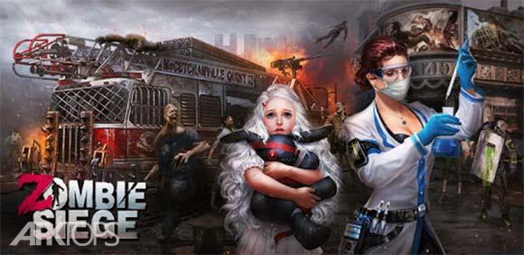 Zombie Siege دانلود بازی احاطه زامبی ها