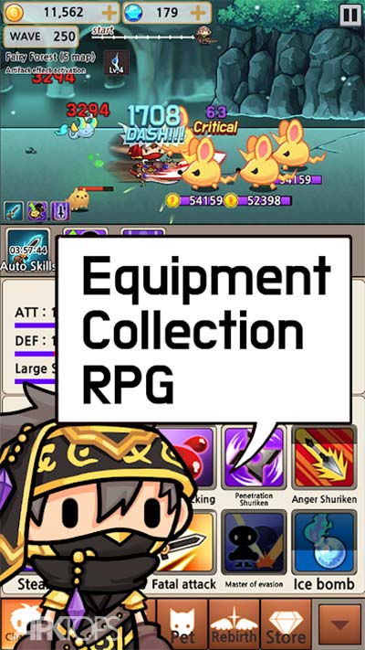 Assassin Lord: Idle RPG v1.0.2 دانلود بازی پادشاه قاتل +مود اندروید