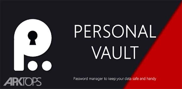 Personal Vault PRO - Password Manager دانلود برنامه مدیریت رمز های عبور