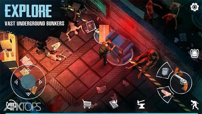 Last Survivor Diaries - Zombie Survival v0.1.4 دانلود بازی خاطرات اخرین بازمانده +مود اندروید