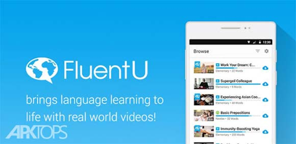 FluentU: Learn Languages with videos دانلود برنامه آموزش زبان خارجی با ویدئو