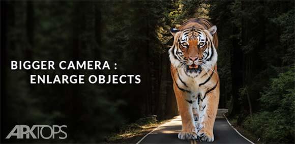 XXL Camera: Enlarge Objects in Photos دانلود برنامه اضافه کردن ایتم به تصاویر