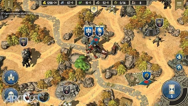 SpellForce: Heroes & Magic v1.2.1 دانلود بازی نیروی جادویی اندروید