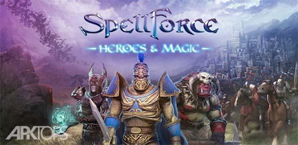 SpellForce: Heroes & Magic دانلود بازی نیروی جادویی