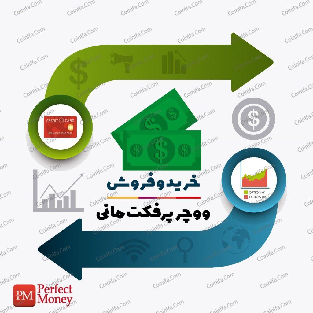 خرید و فروش پرفکت مانی و ووچر پرفکت مانی