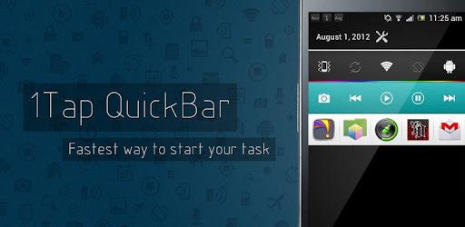 1Tap Quick Bar -Quick Settings