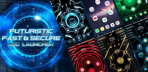 ARC Launcher® 2021 3D Launcher,Themes,App Lock,DIY
