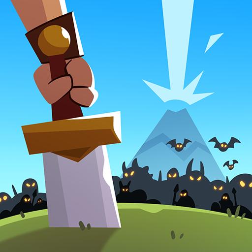 Almost A Hero v3.7.0 دانلود بازی کلیکی تقریبا قهرمان + مود اندروید