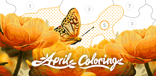 April Coloring - Color by Number & Coloring Games