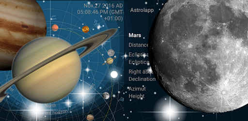 Astrolapp Live Planets and Sky Map