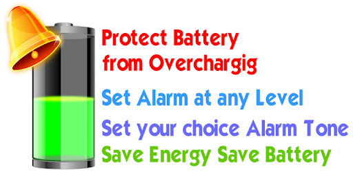 Battery Full Alarm and Battery Low Alarm - No Ads