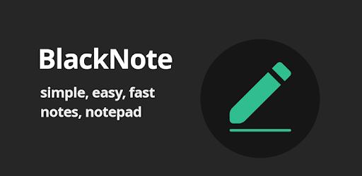 BlackNote Notepad Notes