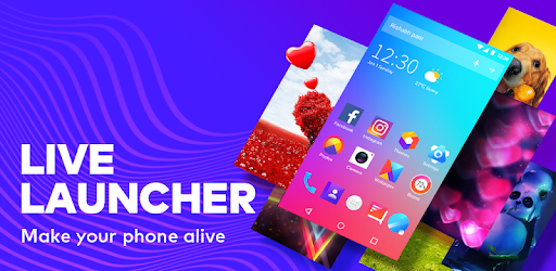 Bolt Launcher - Charging Show & Themes