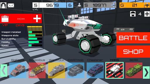 CARS: crossout battlegrounds arena for cars of war v1.6.0 دانلود بازی میدان نبرد ماشین ها اندروید