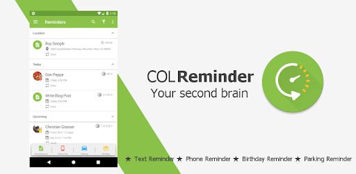 COL Reminder
