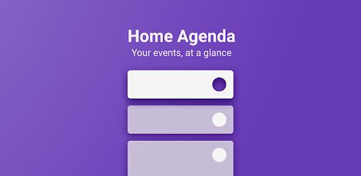 Calendar Widget by Home Agenda 🗓
