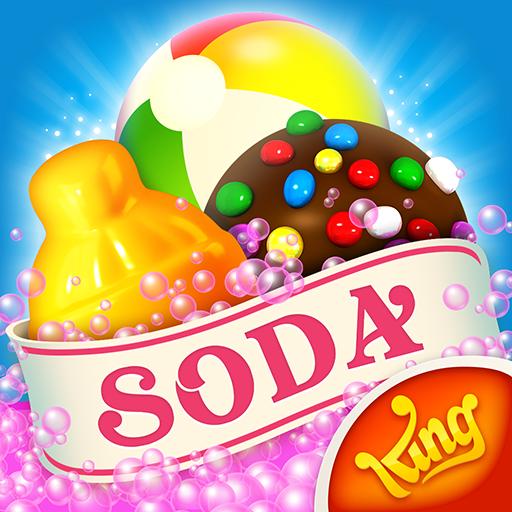 Candy Crush Soda Saga v1.152.12 دانلود کندی کراش سودا + مود اندروید