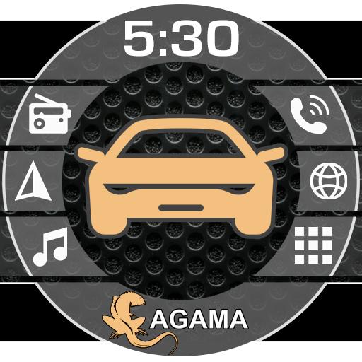 Car Launcher AGAMA v2.4.0 دانلود برنامه لانچر خودروی دستگاه های مالتی مدیای اندرویدی اندروید