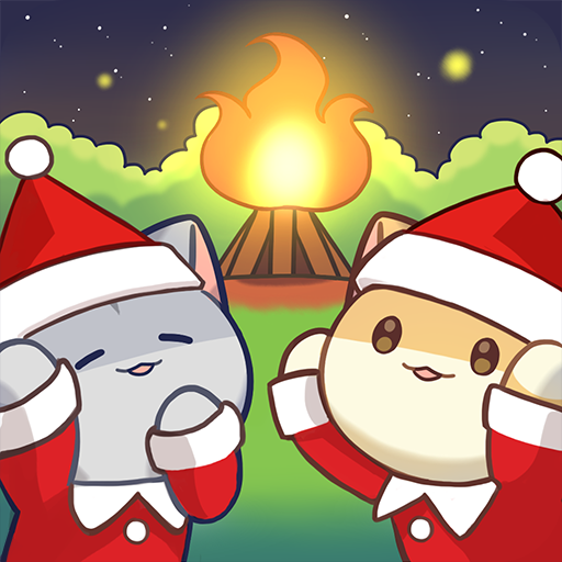 Cat Forest - Healing Camp v2.2 دانلود نسخه مود بازی جنگل گربه اندروید