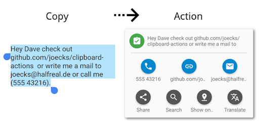 Clipboard Actions & Manager