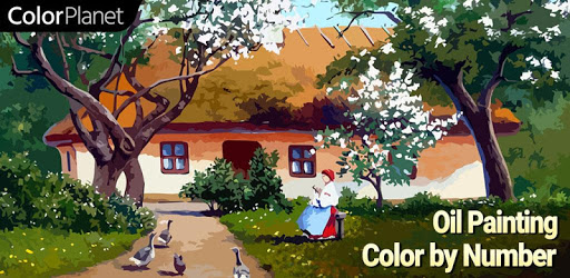 ColorPlanet® Oil Painting Color by Number Free