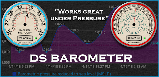 DS Barometer - Altimeter and Weather Information