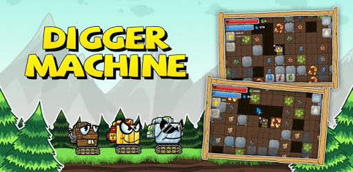 Digger Machine: dig and find minerals
