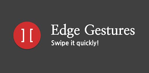 Edge Gestures