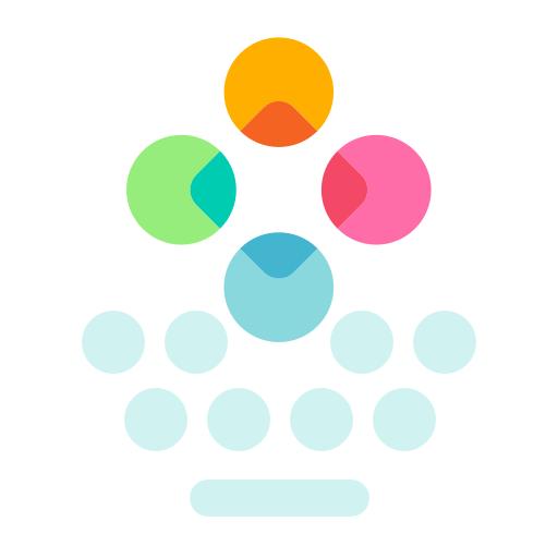 Fleksy + GIF Keyboard Premium v9.9.2 دانلود کیبورد فلکسی اندروید اندروید