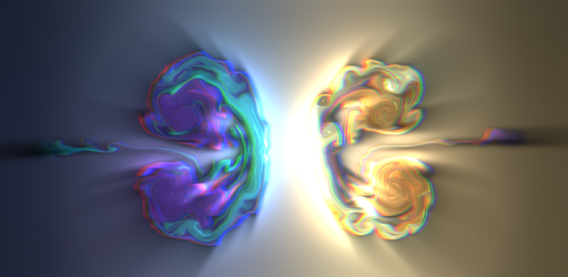 Fluid Simulation - Trippy Stress Reliever