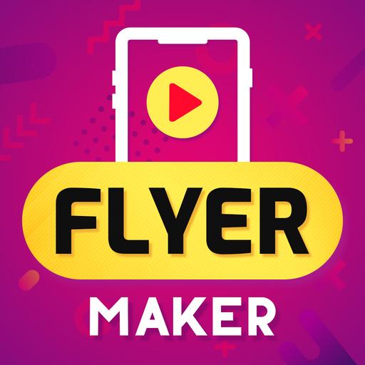 Flyers Video Flyer Maker Brand Video Creator v17.0 دانلود برنامه ساخت ویدئوهای تبلیغاتی اندروید