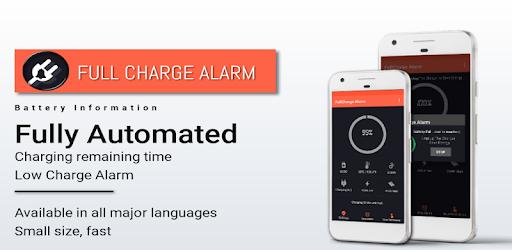 Full Charge Alarm