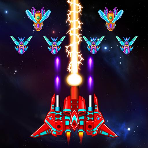 Galaxy Attack: Alien Shooter v17.5 دانلود بازی حمله به کهکشان + مود اندروید