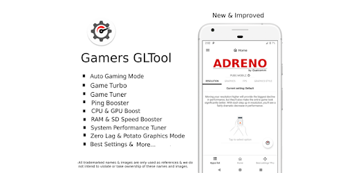Gamers GLTool Pro with Game Turbo & Game Tuner