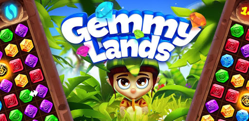 Gemmy Lands: New Jewels and Gems Match 3 Games