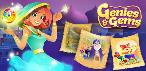Genies & Gems - Jewel & Gem Matching Adventure