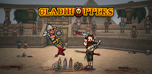 Gladihoppers - Gladiator Battle Simulator!