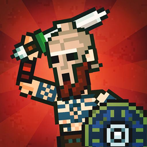 Gladihoppers - Gladiator Battle Simulator! v2.0.6 دانلود بازی نبرد گلادیاتور ها +مود اندروید