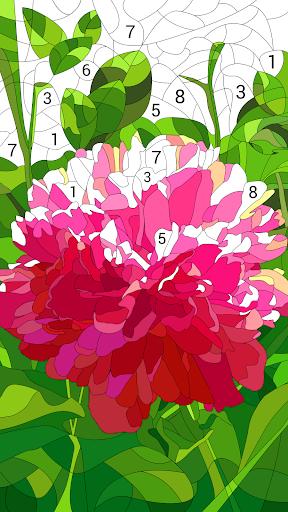 Happy Color – Color by Number v2.6.5 دانلود بازی رنگ امیزی با رنگ های شاد + مود اندروید