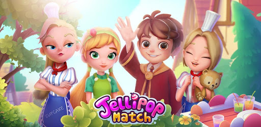 Jellipop Match-Decorate your dream town!