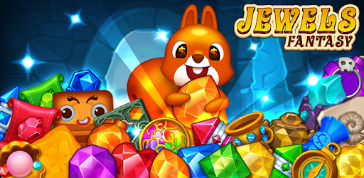 Jewels fantasy: Easy and funny puzzle game