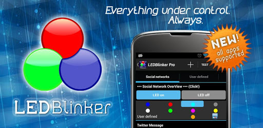 LED Blinker Notifications Lite AoD-Manage lights💡