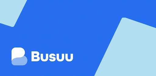 Learn to speak English with Busuu